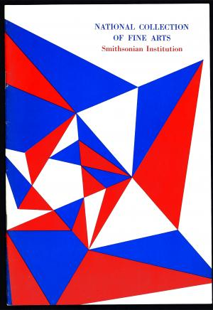 120th Anniversary brochure for the National Collection of Fine Arts (now the Smithsonian American Ar