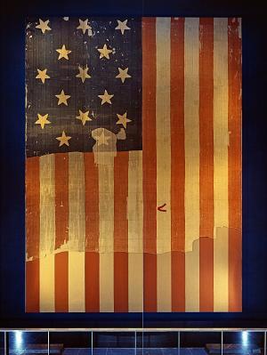 Star-Spangled Banner, NMAH, circa 1964.