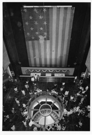 Foucault Pendulum and the Star-Spangled Banner, 1993.