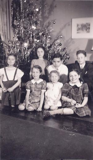 Annual Family Christmas Party, 1939