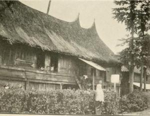 Native Dwelling, Sumatra, 1901, by C. G. Abbot