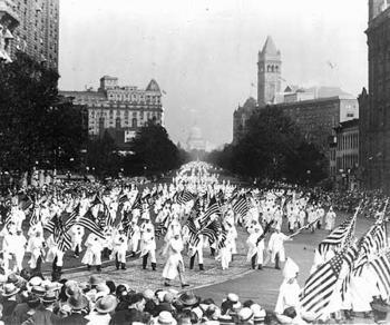 Ku Klux Klan Rally, 1925.