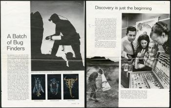 A Batch of Bug Finders, LIFE Magazine, March 20, 1970, pgs 59-60.