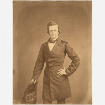 William Stimpson, 1860, photograph, salted paper print, National Portrait Gallery, Smithsonian Insti