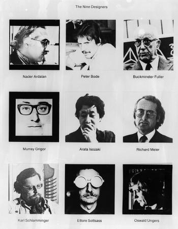 Photos from a 1976 press release kit.