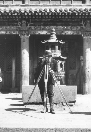 Archibald Wenley in China.