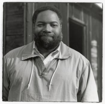 Portrait of Lonnie G. Bunch, undated. Accession 19-200: Lonnie G. Bunch Papers, Smithsonian Institut
