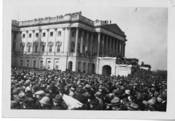 The second inauguration of John Calvin Coolidge, Jr., 1925.