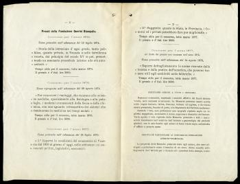 Pamphlet of Prize Questions from the Royal Institute of Venetian Science Literature and the Arts 187