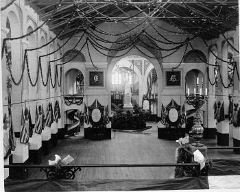 President Garfield's Inaugural Ball, 1881.