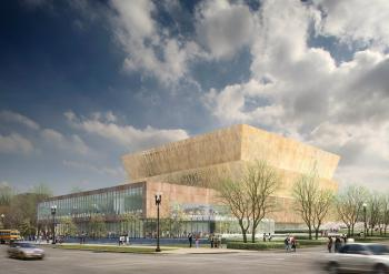 Design for National Museum of African American History and Culture, 2010.