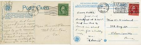 dating postcards smithsonian institution archives