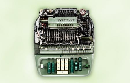 "Mechanical calculator, ""Low Tech"" series, by photographer Kevin Twomey."