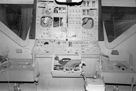 Lunar Module Procedures Simulator Crew Station