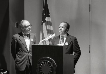 """John Lewis at Opening of """"Right to Vote"""" Exhibit"""