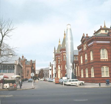 Exterior View of Smithsonian Buildings