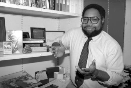 Lonnie G. Bunch III after his appointment as associate chair of the Department of Social and Cultura