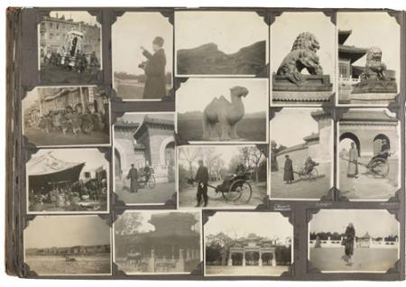 Photograph album of travel through Indonesia, 1930, by Alexander Archipenko, Alexander Archipenko pa