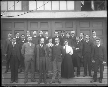 Group Portrait of Government Board Employees