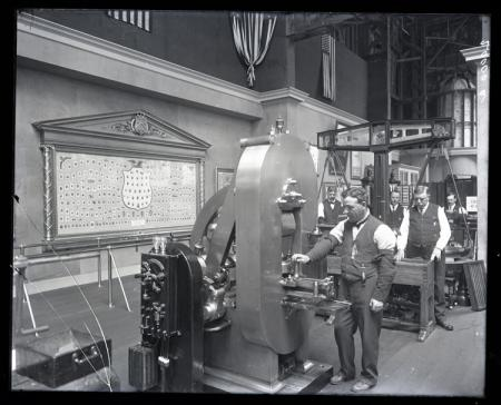 Treasury Department Exhibit at the Panama-Pacific International Exposition in San Francisco, Califor