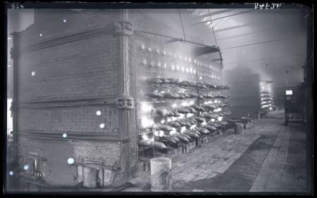 Spelter Smelting in the Belgian Furnaces of the Passaic Zinc Company