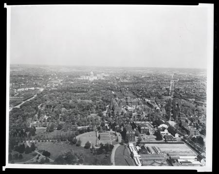 Aerial View of National Mall, 1900s