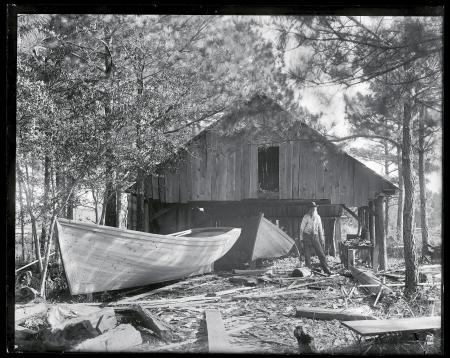Creef Boatworks at Wanchese on Roanoke Island