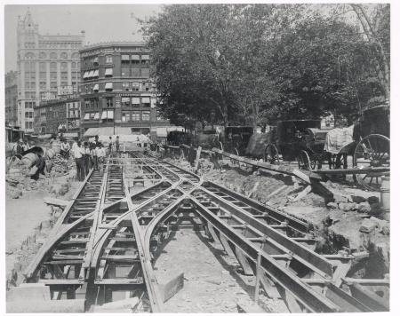 Construction of Train Tracks