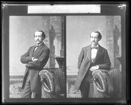 Stereograph Portrait of Colonel James D. Stevenson