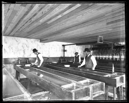 Interior View of United States Fish Commission Hatchery