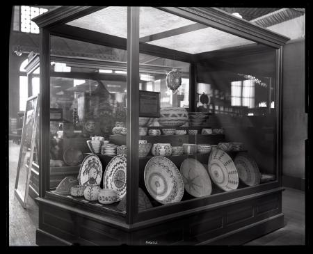 """Basketry of the American Indians"" Exhibit at Louisiana Purchase Exposition"