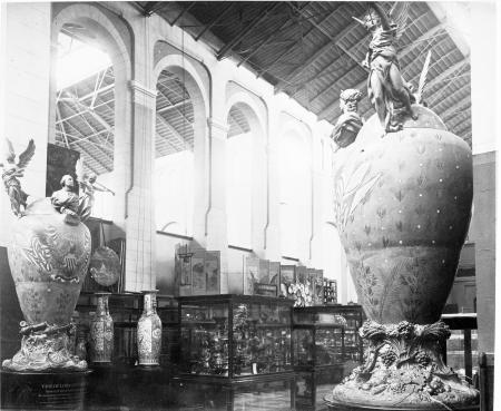 Ceramics Exhibit in the United States National Museum