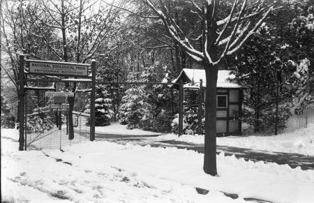 Entrance to the National Zoological Park
