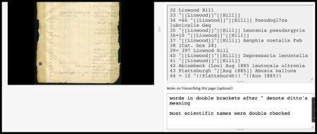 Communicating by Notes, Smithsonian Transcription Center