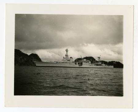 USS Houston, during the Presidential Cruise, 1938, 1938, Smithsonian Institution Archives, SIA RU00