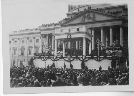 Crowds at the U.S. Capitol, assembled for the second inauguration of John Calvin Coolidge, Jr. , 192