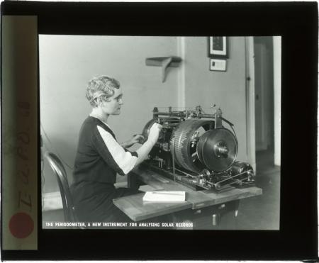 Unidentified Female Works With Periodometer