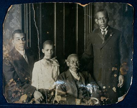 Younger Family, relatives of the first African American employee of the Smithsonian, Solomon Brown,