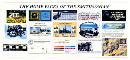 Materials from the Smithsonian Institution website 1995 launch press kit from Accession 98-094: Offi