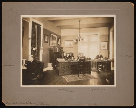 Office of Executive Assistant to the Secretary in the east wing of the Smithsonian Institution, or C