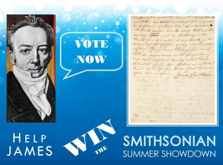 Smithsonian Summer Showdown, Please help James win by voting!