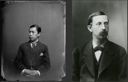Portraits of George Tsaroff and William Healey Dall