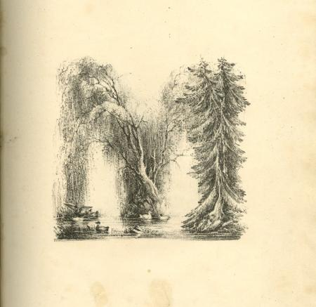 The Landscape Alphabet, by Charles Joseph Hullmandel, 1810-1860, paper lithograph, British Museum, 1