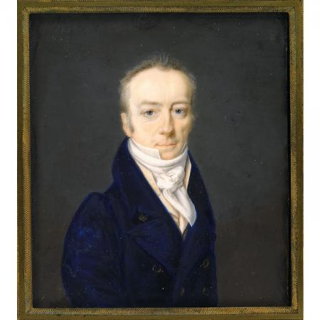 Portrait of James Smithson.