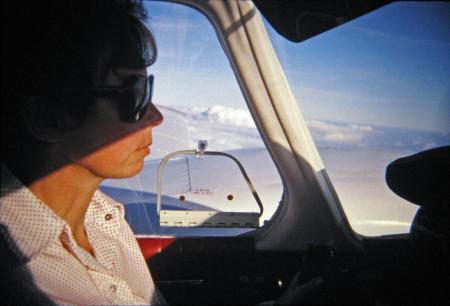Fern Rathe: Twin Engine Pilot, 1971, Rathe Family Collection