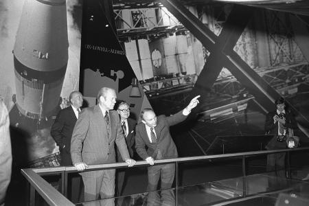 Opening of the New National Air and Space Museum, 1976