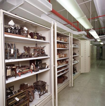 Storage Space at Museum Support Center (MSC)