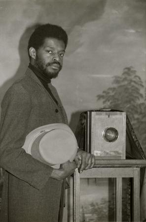 Cordell Dickerson, Photographer in the Tintype Studio in the Arts and Industries Building Museum Sho
