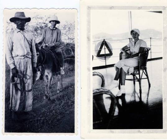 Original photo captions, left to right:
