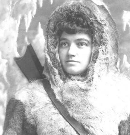 Portrait of Josephine Diebitsch Peary